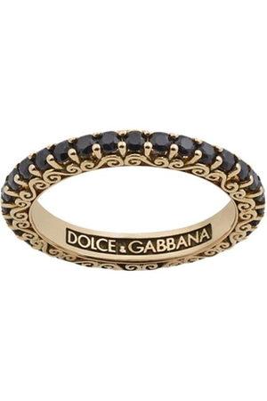 Dolce & Gabbana Women Rings - 18kt yellow gold Sicily sapphire ring