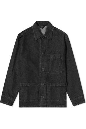 A.P.C. Nathanael Denim Work Jacket