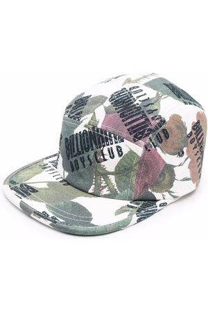 Billionaire Boys Club Floral-print logo baseball cap