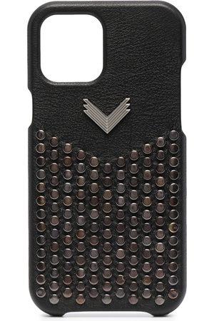 Manokhi Phones Cases - Stud-embellished iPhone 12 Pro Max case
