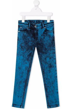 Stella McCartney Girls Skinny - Acid-wash skinny jeans