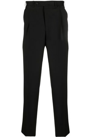 CANALI Men Formal Pants - Tailored straight-leg trousers