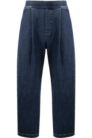 Opening Ceremony Pleat-detail straight-leg jeans