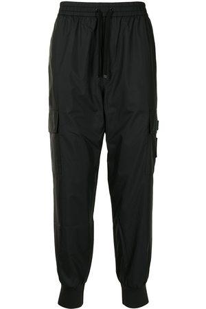 AGNÈS B. Men Sweatpants - Logo-patch track pants