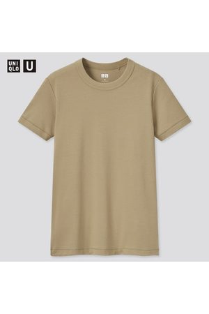 UNIQLO Women Short Sleeve - Women's U Crew Neck Short-Sleeve T-Shirt, , XS
