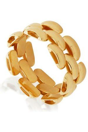 Monica Vinader Rings - Gold Doina Chain Ring