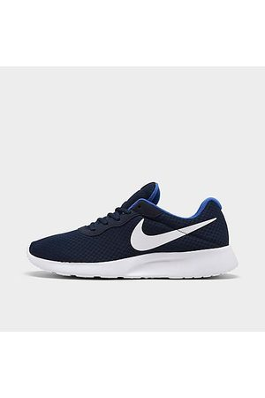 Nike Men Casual Shoes - Men's Tanjun Casual Shoes in /Midnight Navy Size 8.0