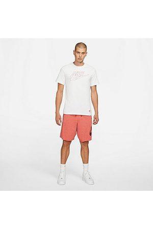 Nike Men's Sportswear Alumni Fleece Shorts in /Lobster Size X-Small Cotton/Polyester/Fleece