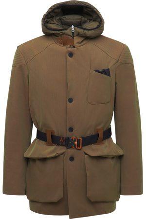 Sease Laminated Wool & Nylon Norfolk Jacket