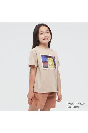 UNIQLO Girls Short Sleeve - Girl's Disney Furry Friends Ut (Short-Sleeve Graphic T-Shirt), , 3Y