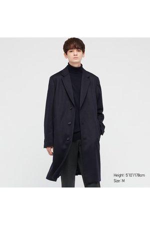 UNIQLO Men Coats - Men's Wool Cashmere Chesterfield Coat, , XXS