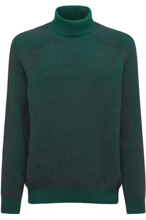 Sease Reversible Cashmere Roll Neck Sweater