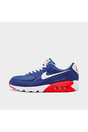 Nike Men's Air Max 90 Casual Shoes in /Hyper Royal Size 7.5 Leather