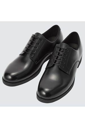 UNIQLO Men Formal Shoes - Men's Plain Toe Derby Shoes, , 7.0