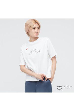 UNIQLO Women Short Sleeve - Women's Disney Furry Friends Ut (Short-Sleeve Graphic T-Shirt), , XXS
