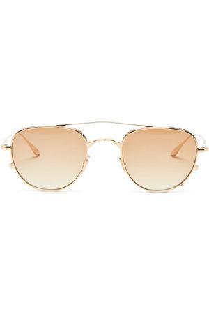 JACQUES MARIE MAGE Women Aviators - Harcourt Altan Aviator Titanium Sunglasses - Womens