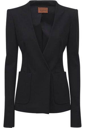 The Andamane Women Blazers - Helga Slim Fit Jersey Blazer