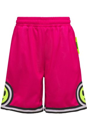 BARROW Men Shorts - Mesh Logo Shorts