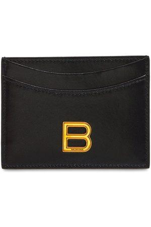 Balenciaga Women Wallets - Logo Leather Card Holder