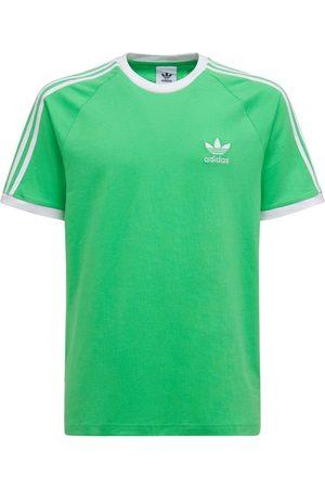 adidas Men T-shirts - 3-stripes Cotton T-shirt