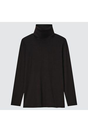 UNIQLO Women Turtlenecks - Women's HEATTECH Turtleneck T-Shirt, , XXS
