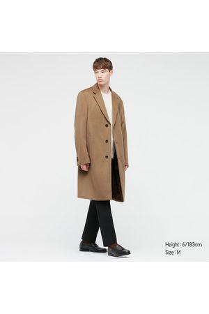 UNIQLO Men's Wool Cashmere Chesterfield Coat, , XXS