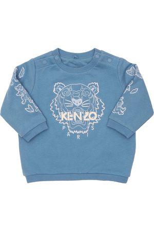 Kenzo Boys Sweatshirts - Tiger Organic Cotton Sweatshirt