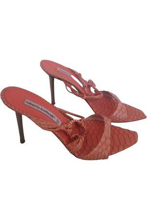 Roberto Botticelli Leather sandal