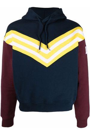 Dsquared2 Men Hoodies - Stripe-print pullover hoodie