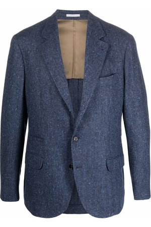 Brunello Cucinelli Men Blazers - Single-breasted tailored blazer