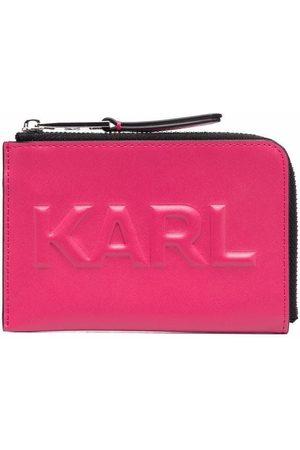 Karl Lagerfeld Women Purses - K/Karl Seven embossed cardholder