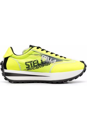 Stella McCartney Women Sneakers - Logo-print low-top sneakers