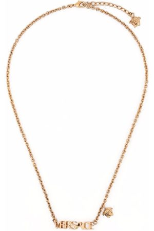 VERSACE Necklaces - Logo-plaque necklace