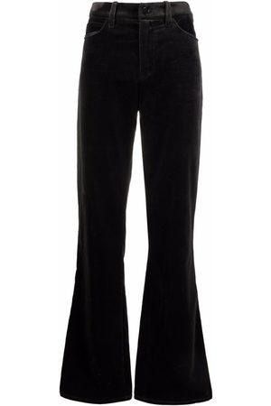Zadig & Voltaire Women Straight Leg Pants - Straight-leg velvet trousers