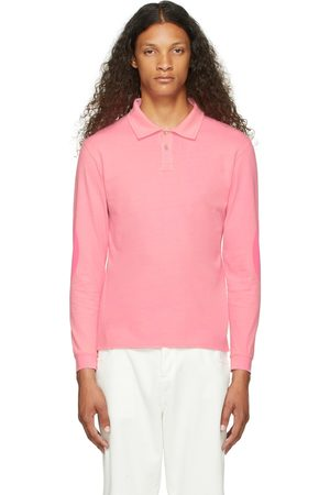 ERL Pink Rugby Long Sleeve T-Shirt