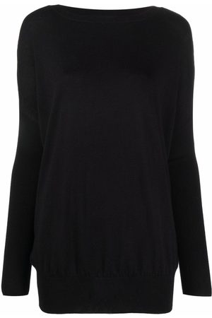 SNOBBY SHEEP Women Sweaters - Ribbed-knit drop-shoulder sweater