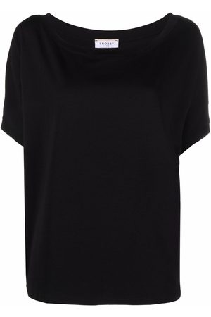 SNOBBY SHEEP Women Sweatshirts - Scoop-neck cotton sweatshirt