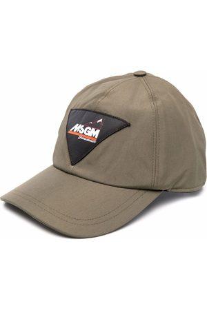 Msgm Men Hats - Logo-patch hat
