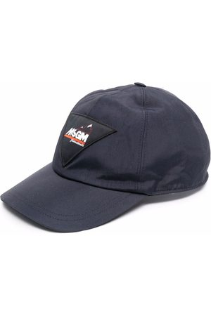 Msgm Men Caps - Logo-patch cap