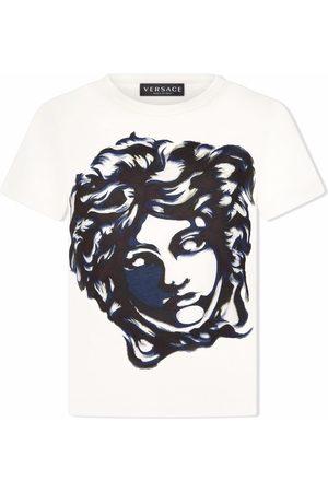 VERSACE Boys T-shirts - Medusa Head-print cotton T-shirt