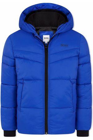HUGO BOSS Boys Puffer Jackets - Hooded padded jacket