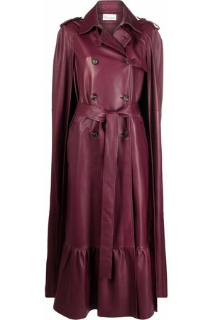 RED Valentino Women Ponchos & Capes - Double-breasted cape
