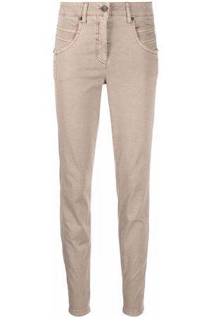 Luisa Cerano Women Skinny Pants - Slim-fit trousers - Neutrals