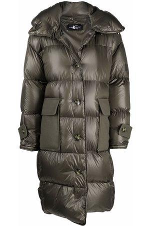 Luisa Cerano Button padded coat