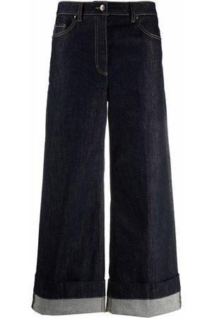 Luisa Cerano Women High Waisted - High-waist wide-leg jeans