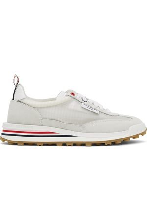 Thom Browne Women Sports Equipment - White Unlined Tech Runner Sneakers