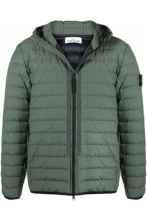 Stone Island Men Puffer Jackets - Logo-patch puffer jacket
