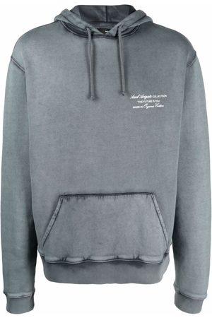 Axel Arigato Logo-print organic cotton hoodie