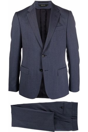 Z Zegna Single-breasted wool suit