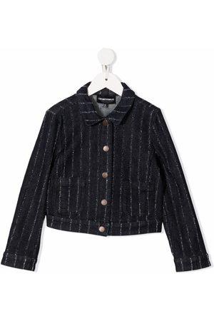 Emporio Armani Striped button-down jacket
